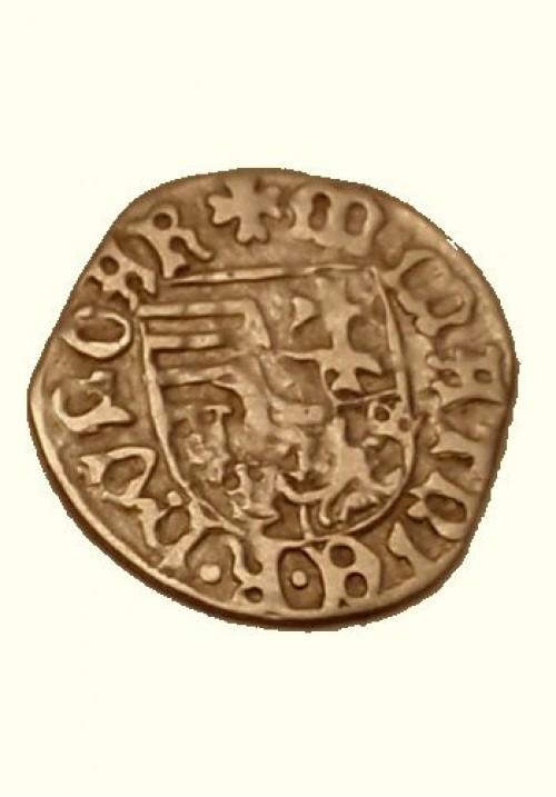 Венгерский денарий Маттиаса Корвина (1458-1490)