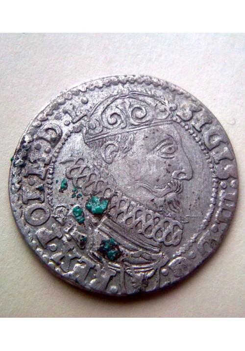 Польша. 6 грошей 1627 года