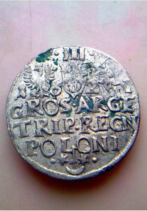 Польша. 3 гроша 1621 года
