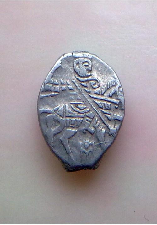 Копейка совместного правления Софьи Алексеевны с именем Ивана КГ 1493