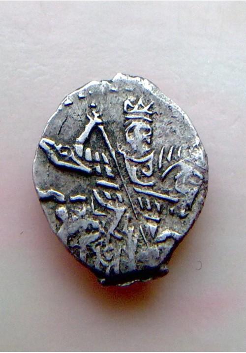 Копейка совместного правления Софьи Алексеевны с именем Ивана КГ 1526  ПРОДАНО НЕТ В НАЛИЧИИ