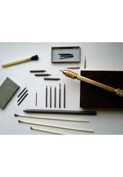 Полный комплект для механической чистки монет, 28 предметов