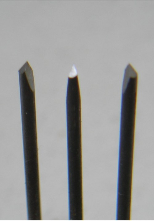 Набор трехгранных шаберов из надфилей для мехчистки (3 шт)