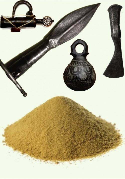 Танин (галодубильная кислота) для реставрации железа, 25 г.