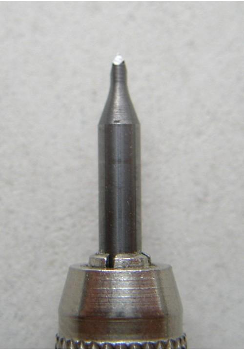 Шабер из твердосплава, трехгранный для механической чистки (1 шт.)