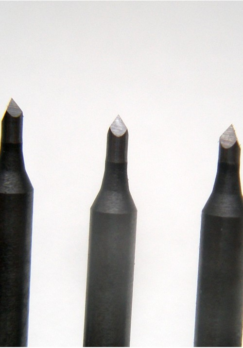 Шабер из твердосплава, набор (5 шт.)