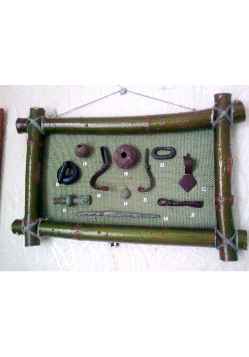 "Рамка ""бронзові прикраси Черняхівської культури II-IV ст. н.е."""