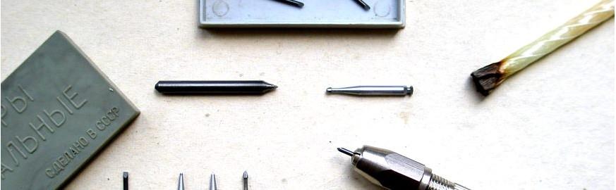 Выбор аксессуаров для механической реставрации предметов коллекционирования