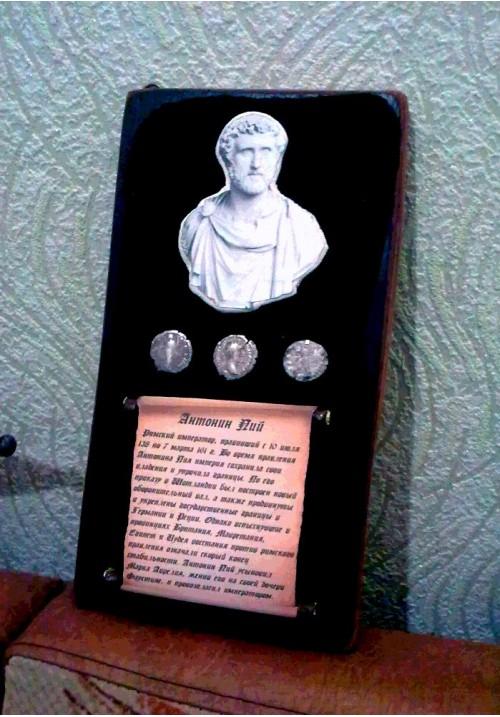 """Панно """"Римский император Антоний Пий"""""""